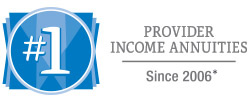 Number 1 provider of Income Annuities