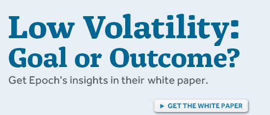 Low Volatility: Goal or Outcome?