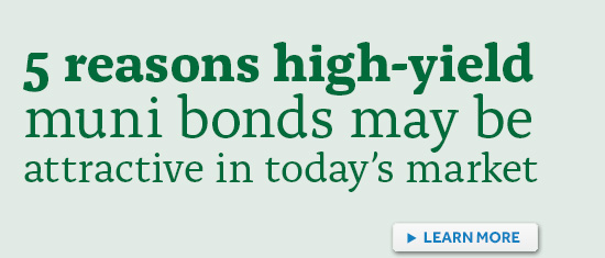 Top rated high yield municipal bond funds / Best indicators